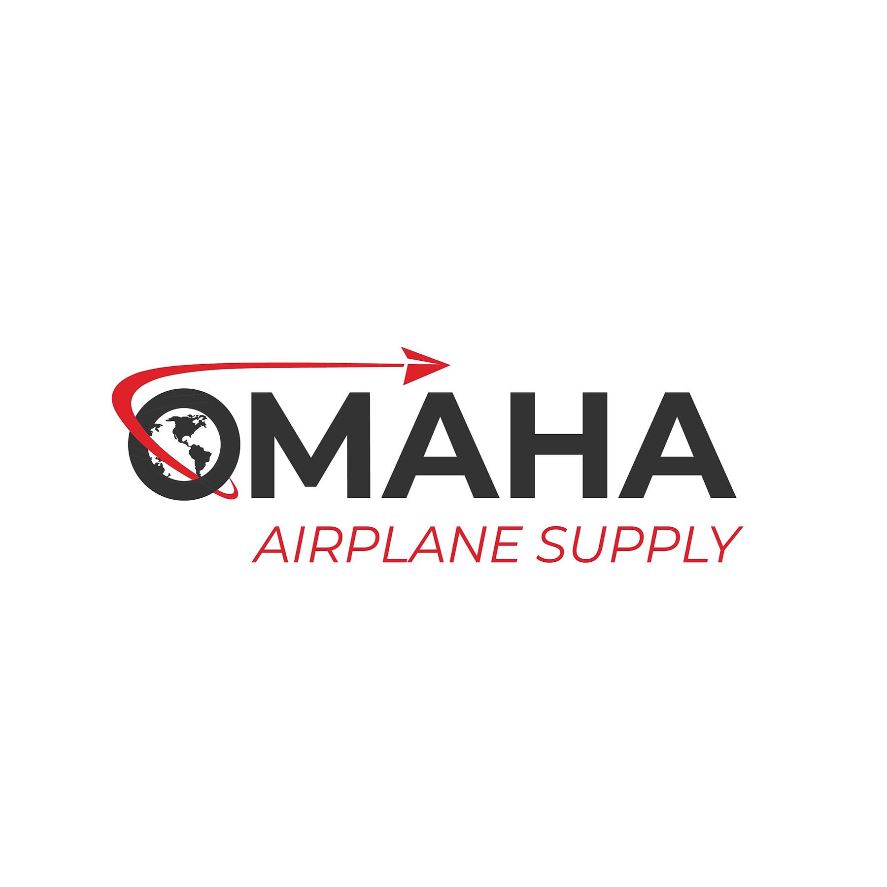 Omaha Airplane Supply Logo. Logo creation. Omaha NE
