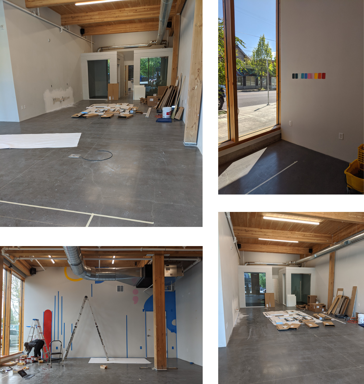 A few initial photos of the new Wink Digital office in Portland, OR