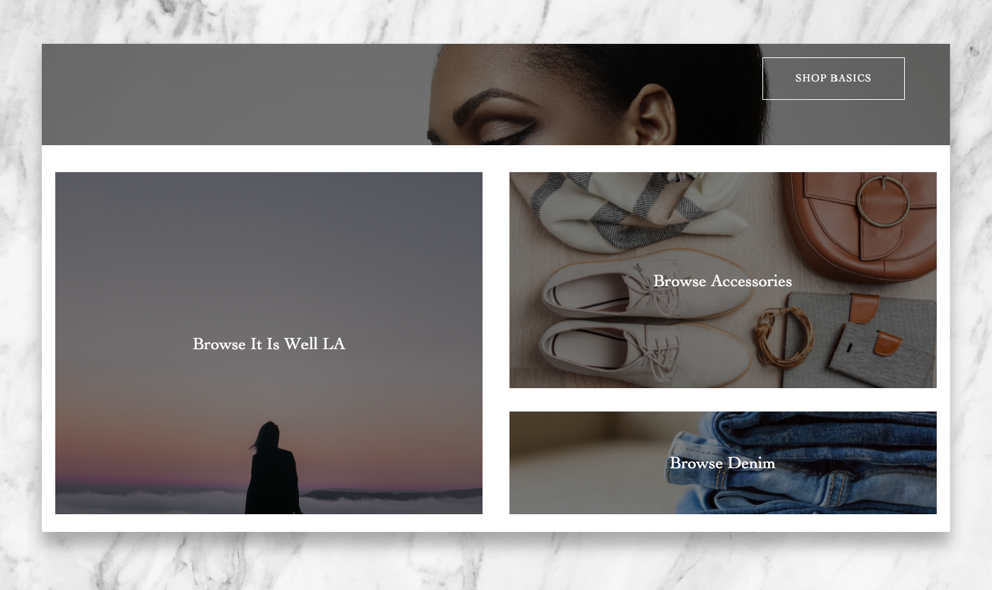 Covered Home Page by Wink Digital