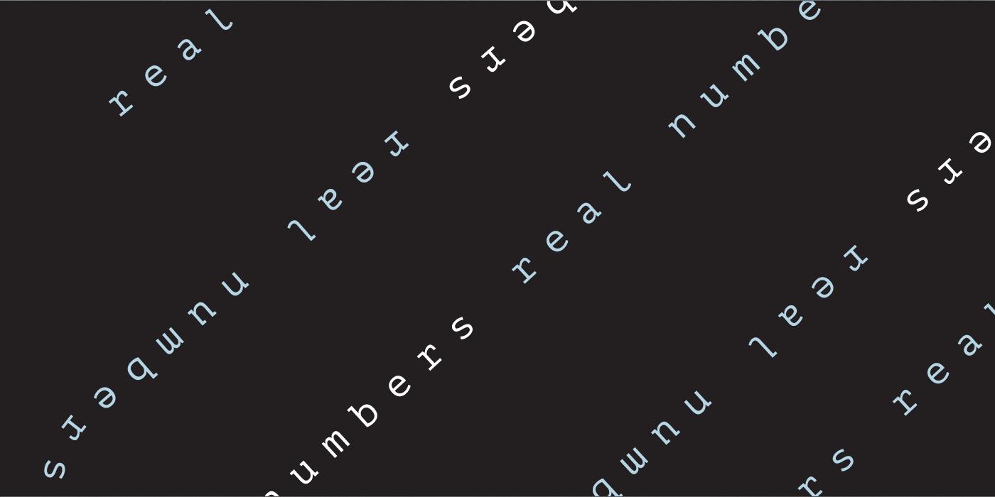 Real Numbers Badge by Wink Digital