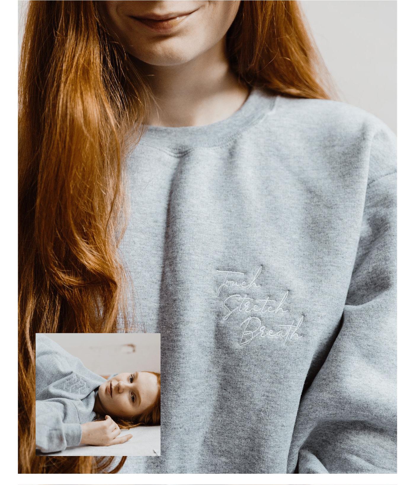 Yomassage sweatshirt design by Wink Digital // Michelle Parent