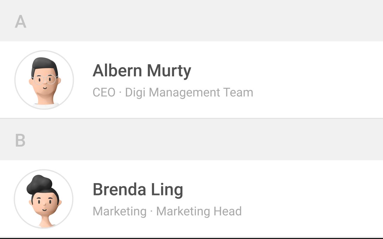 altHR employee directory module