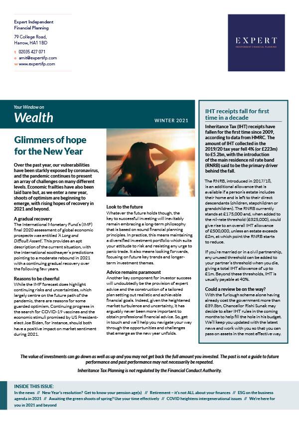 Wealth Winter '21