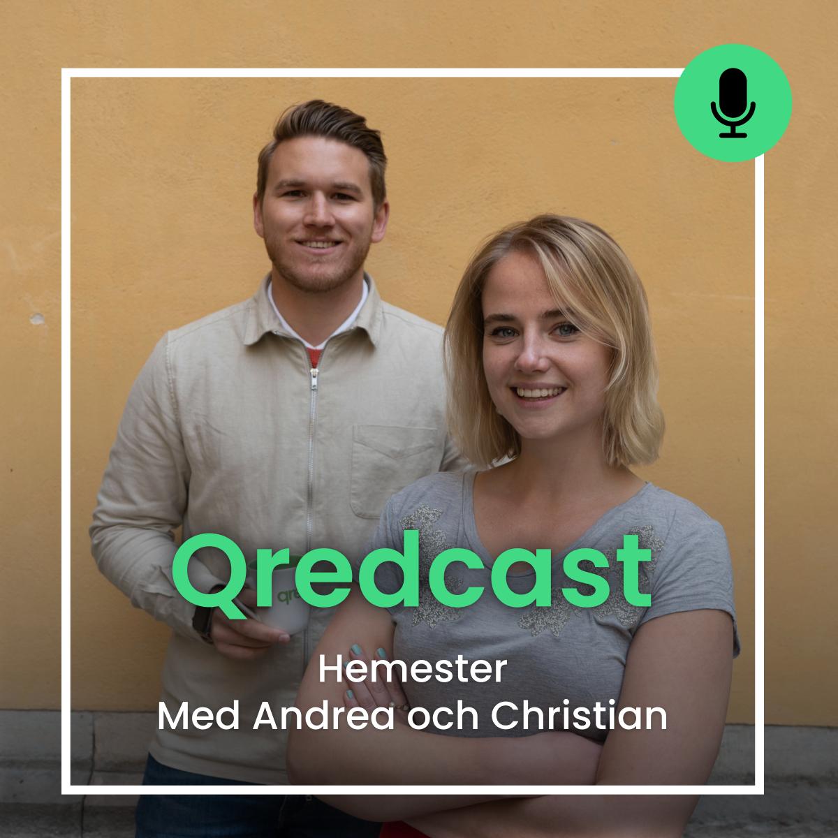 Podcast: Hemester med Andrea och Christian