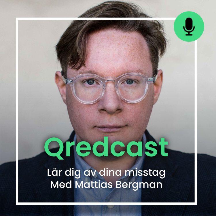 Mattias Bergman pratar om hur man kan lära sig av sina misstag