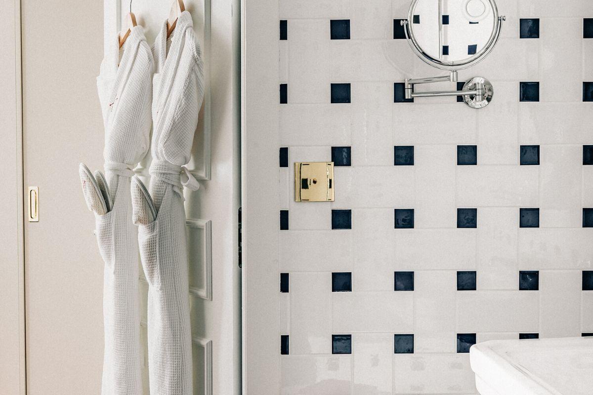 Bathroom Experimental Chalet Hotel Verbier
