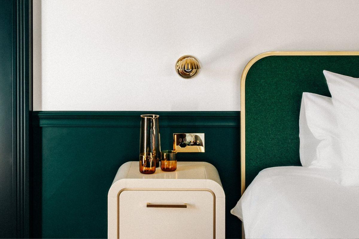 Focus Bed Chambre Supérieure Chalet Expérimental Hôtel Verbier