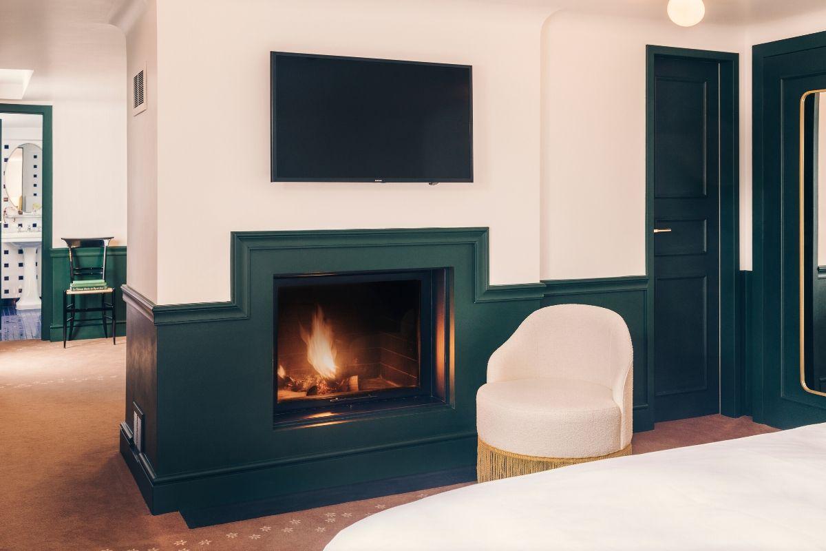Fire Experimental Chalet Hotel Verbier Suite