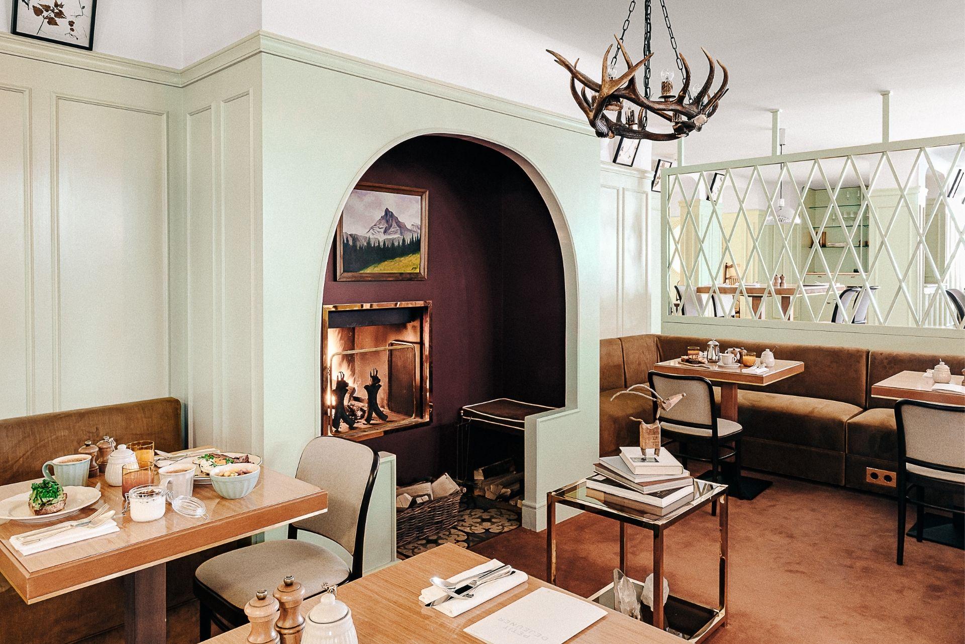 Restaurant 9 Experimental Chalet Hotel Verbier