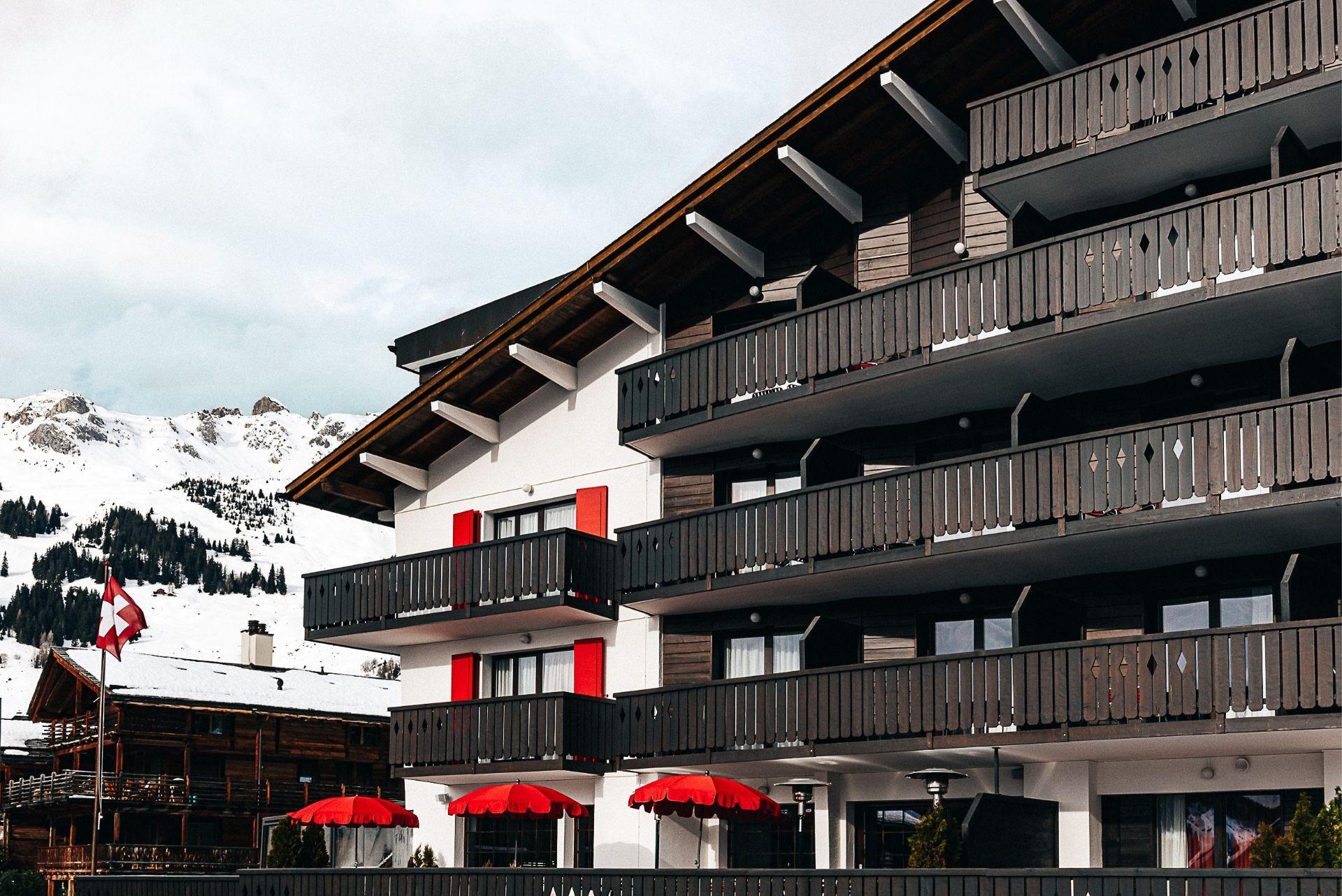 Facade 6 Experimental Chalet Hotel Verbier