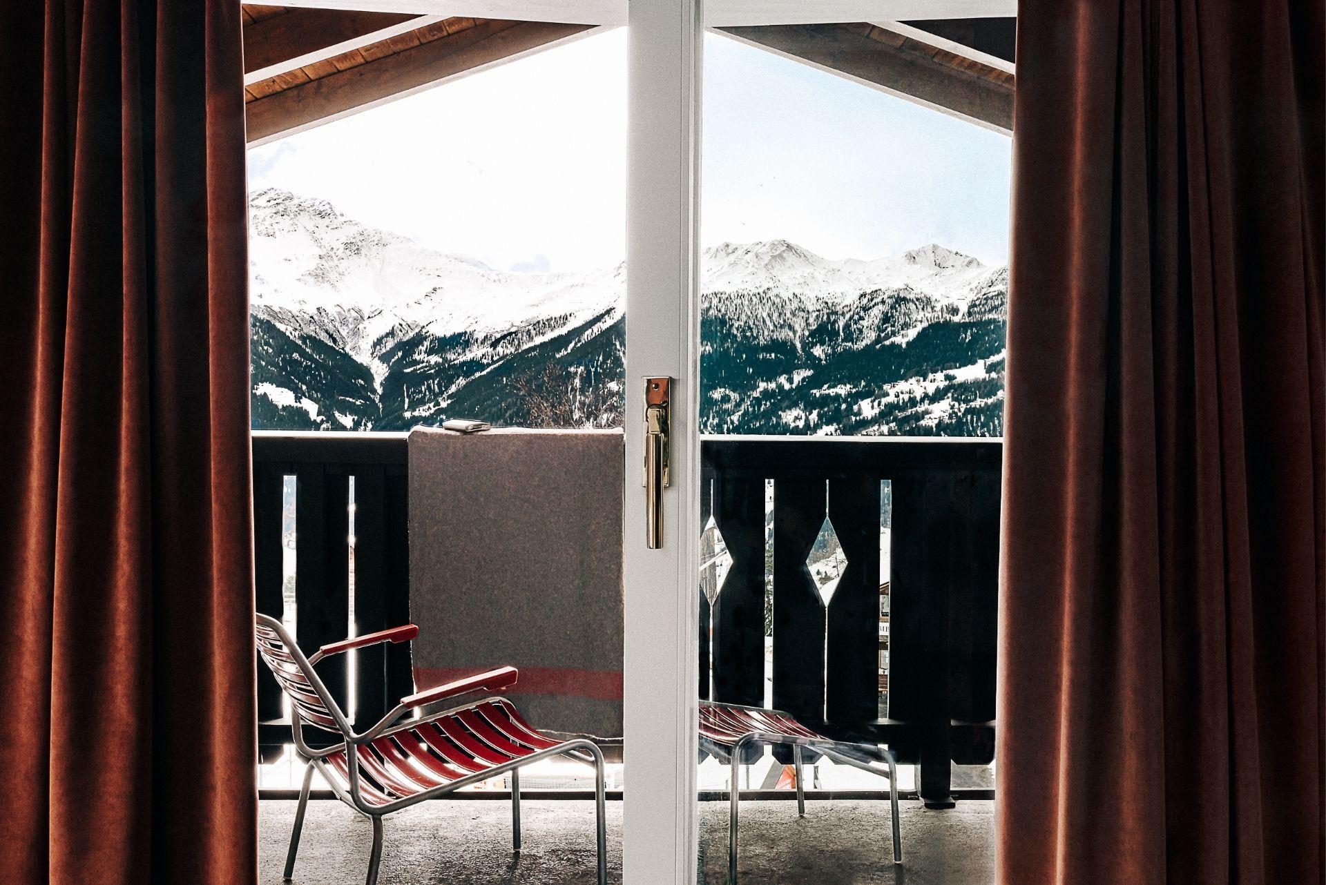 Chaise de terrasse Chalet expérimental Hôtel Verbier