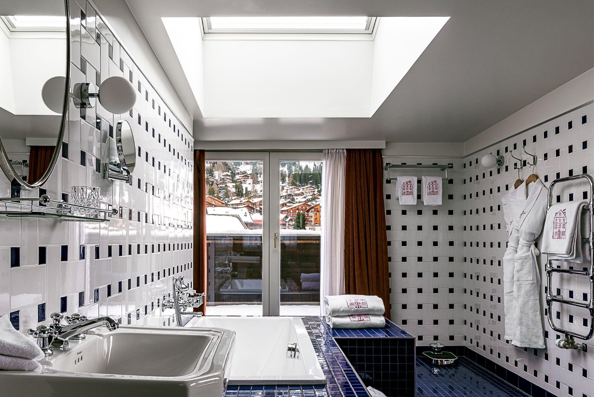 Bathroom 3 Experimental Chalet Hotel Verbier