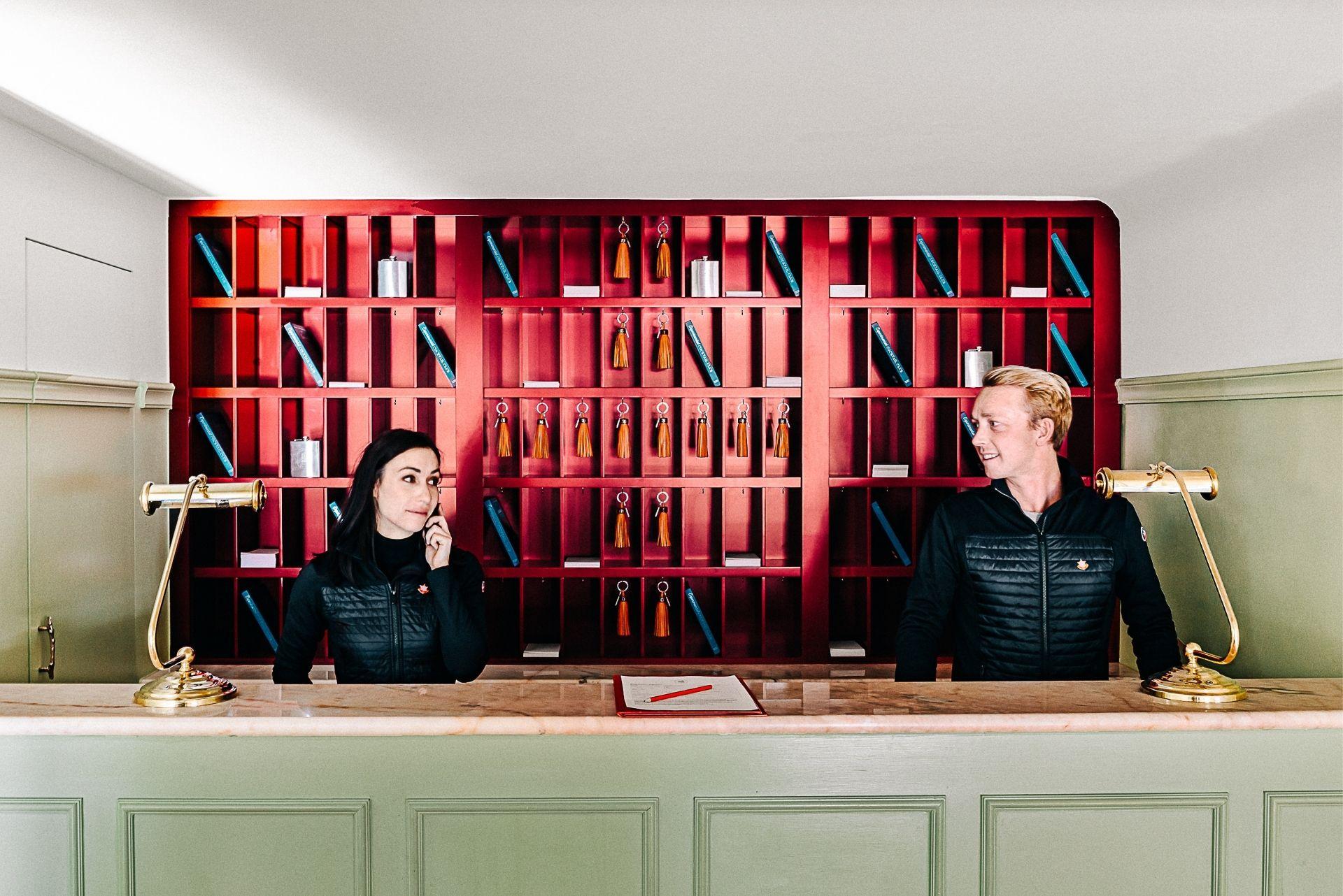 réception Chalet expérimental Hôtel Verbier