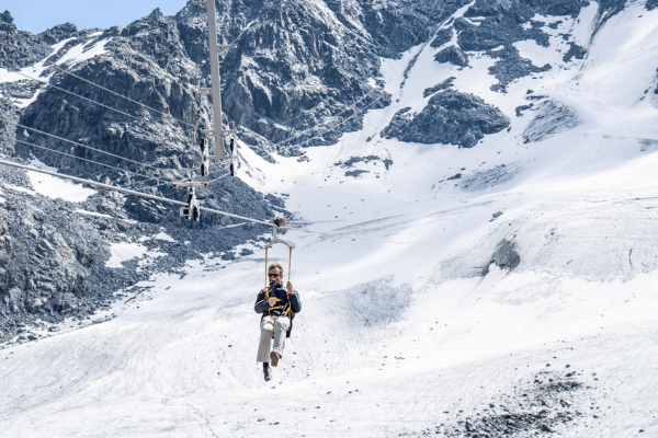 Tyrolienne Ski Experimental Chalet Hotel Verbier