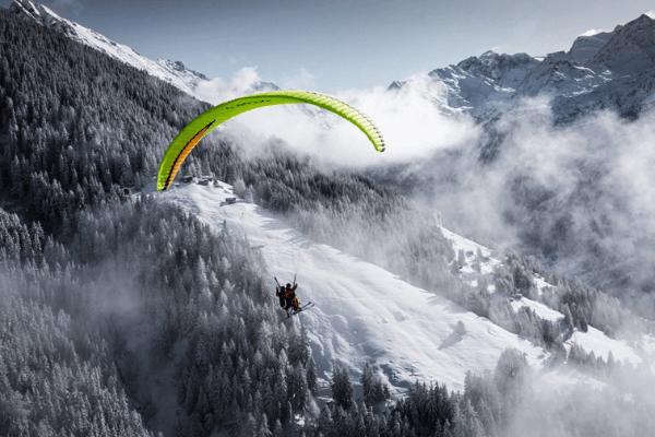 Paragliding Experimental Chalet Hotel Verbier
