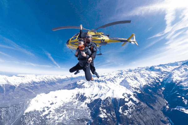 Skydive Experimental Chalet Hotel Verbier