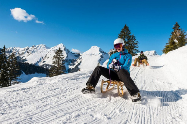 Slege run Ski Experimental Chalet Hotel Verbier