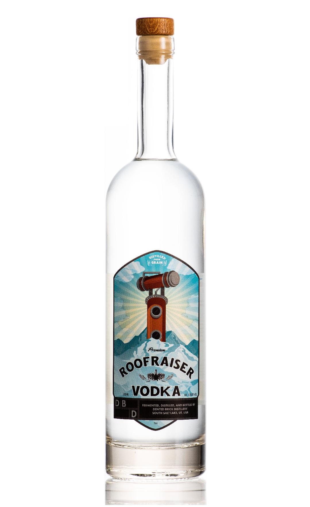 Roof Raiser Vodka by Dented Brick®