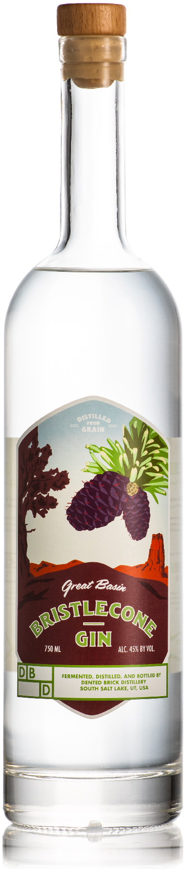 Great Basin Bristle Cone Gin by Dented Brick®