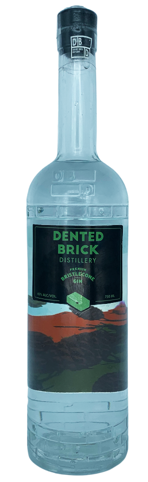 Salt Lake City Craft Distillery Dented Brick Bristlecone Gin