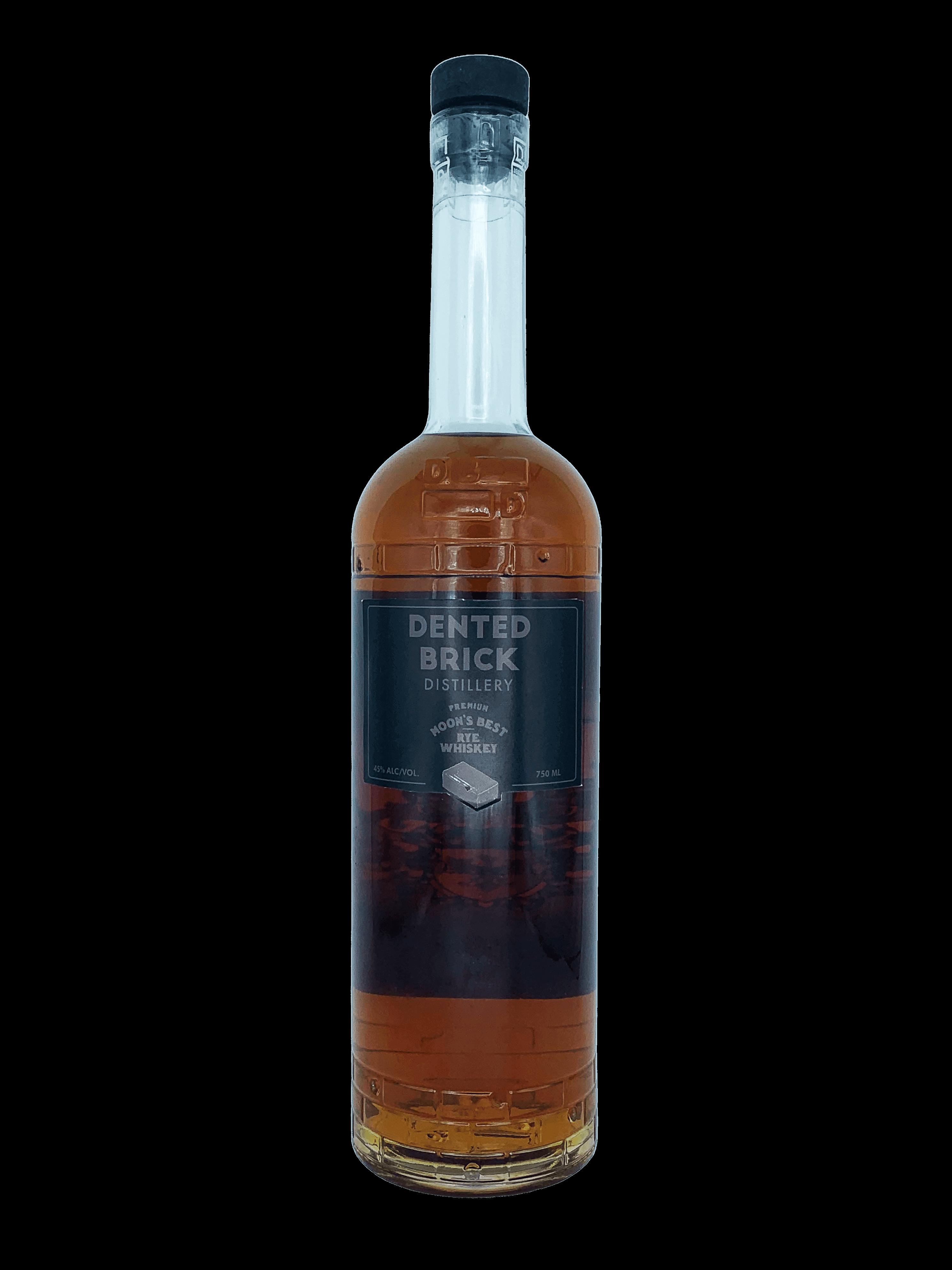 Moon's Best 100% Rye Whiskey