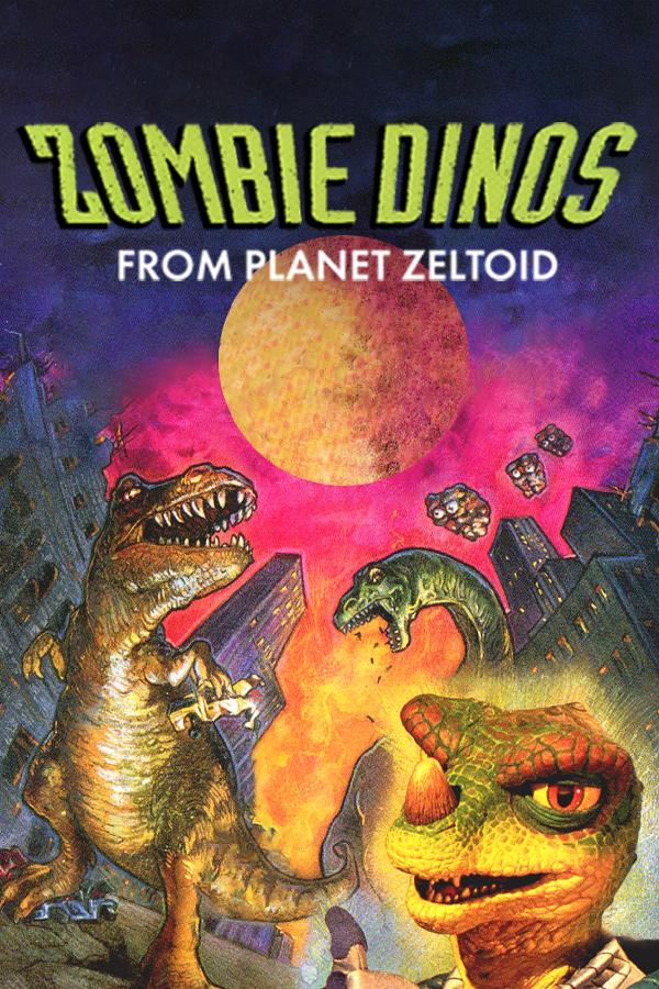 Zombie Dinos From Planet Zeltoid