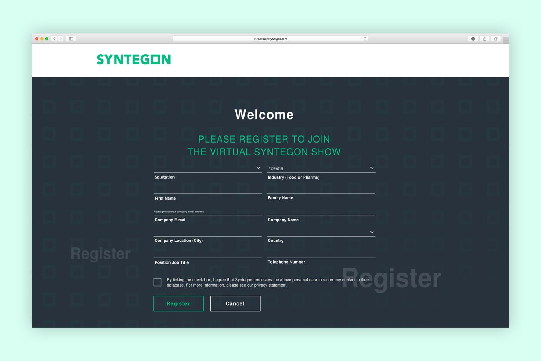 Virtuelle Messe Syntegon