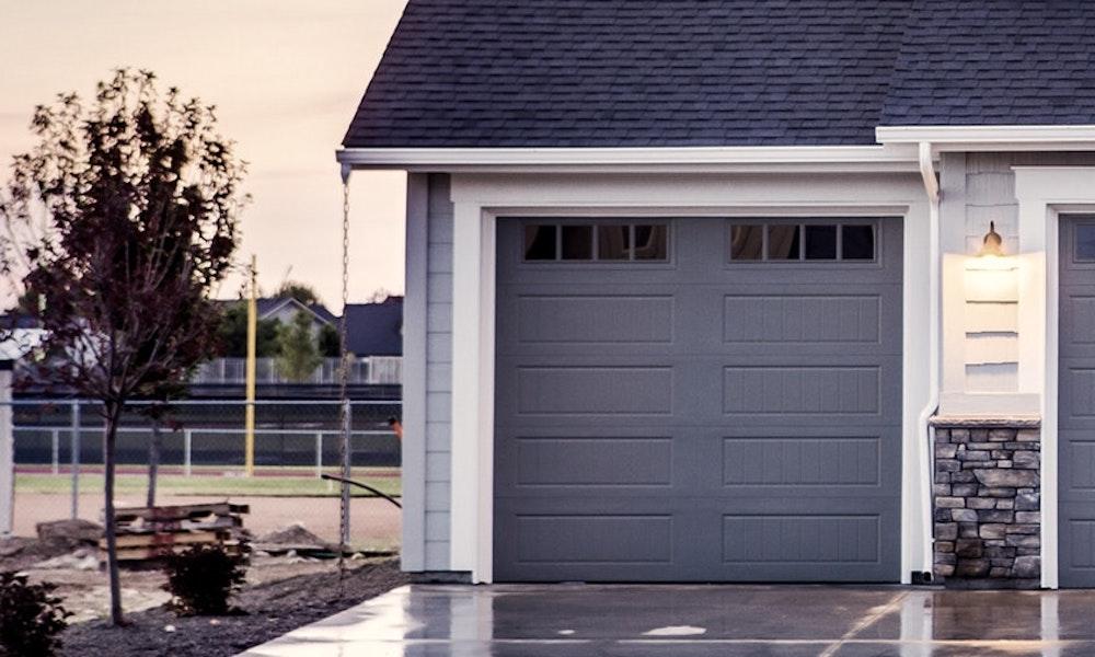 Integreret garage