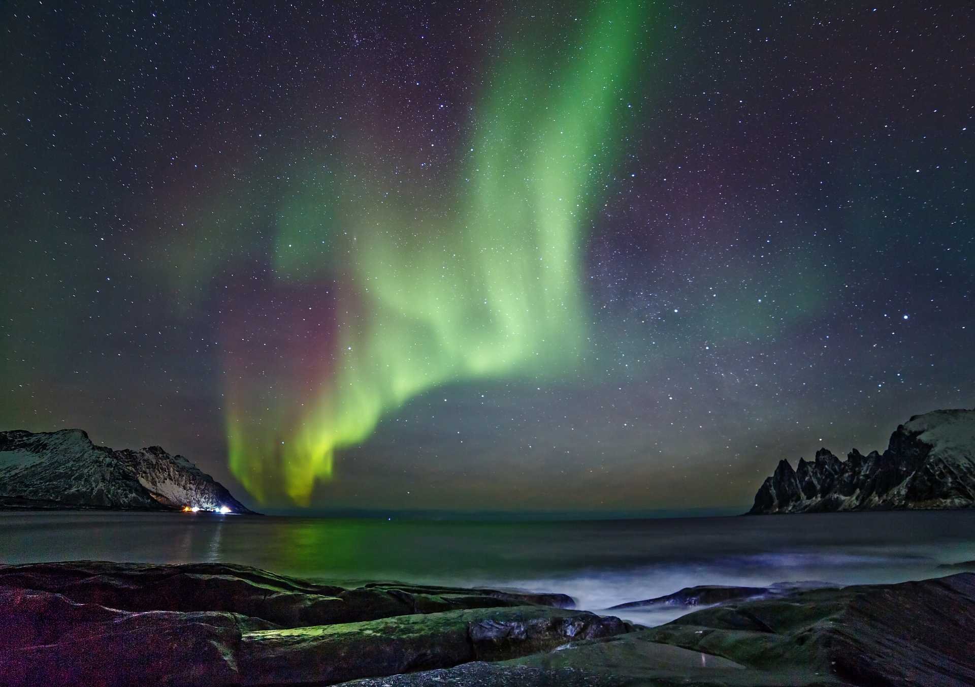 Experience the magic northern light