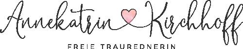 Logo Frau Hochzeitsliebe - Annekatrin Kirchhoff