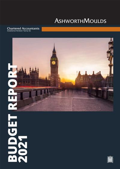 Ashworth Moulds budget 2021
