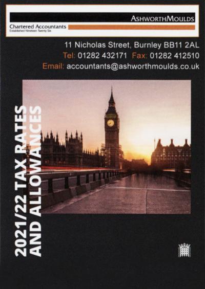 Ashworth Moulds Tax Rates 2021-22