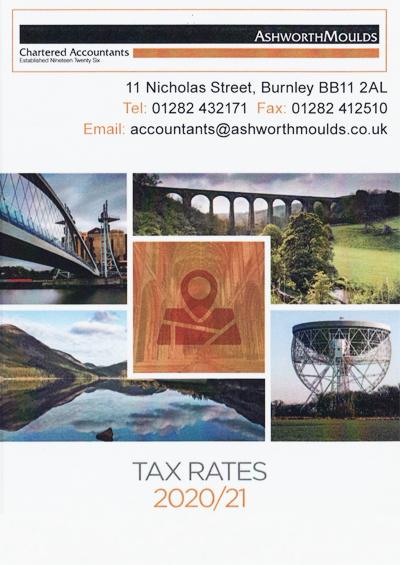 Ashworth Moulds Tax Rates 2020-21