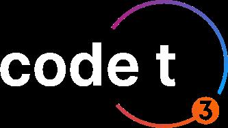 code t3 logo