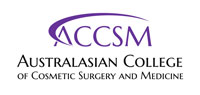 Australasian College of Cosmetic Surgery and Medicine logo
