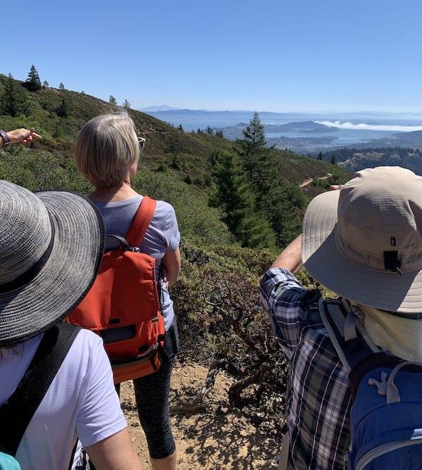 Ladies on a hike