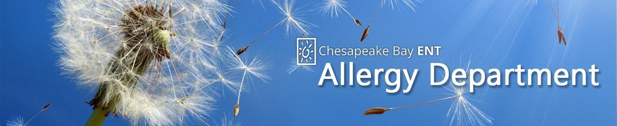 Allergy Department Banner
