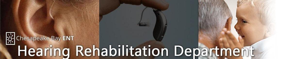 Hearing Rehab Department Banner