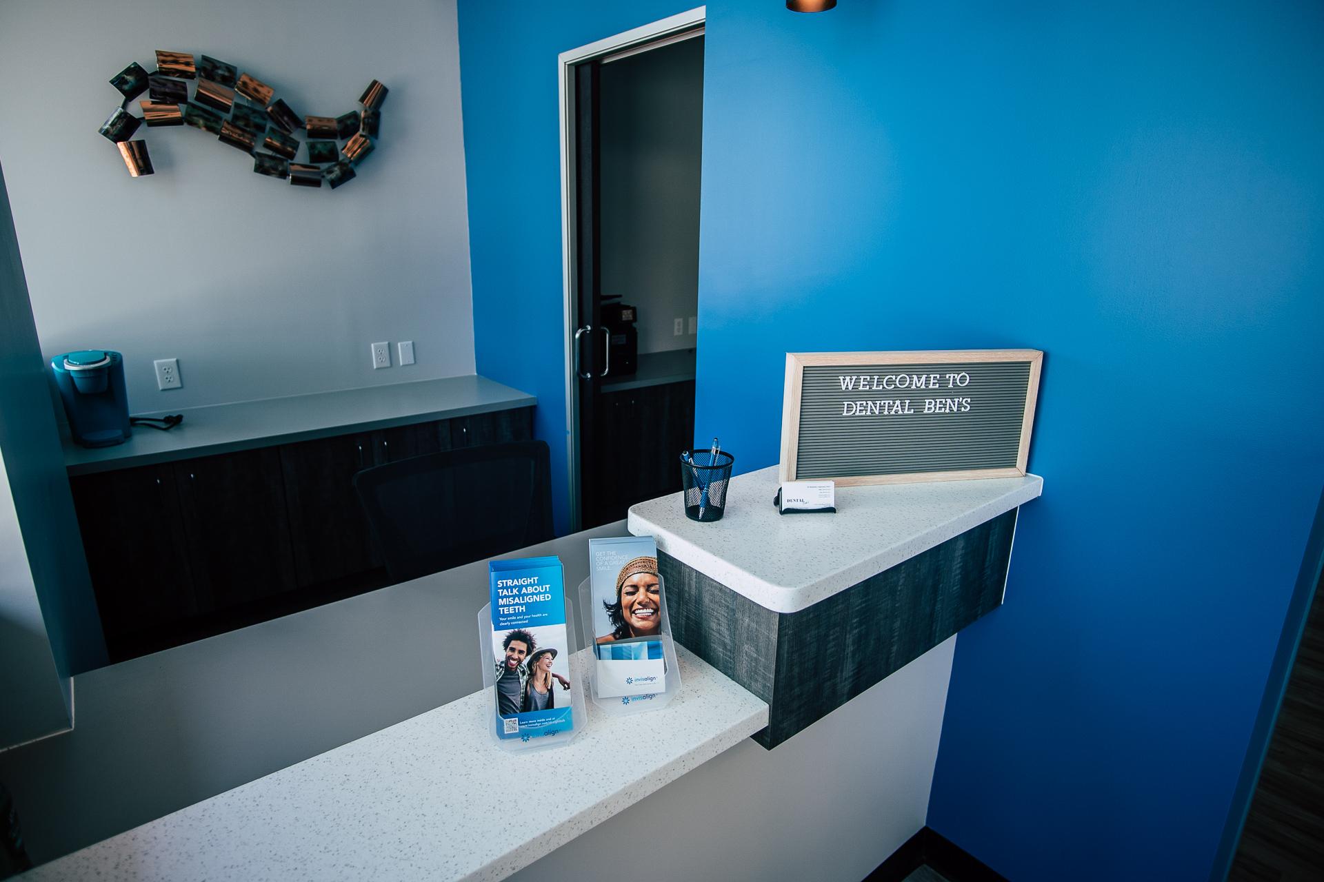 Dental Ben's front desk - Dentist in Peoria, AZ 85383