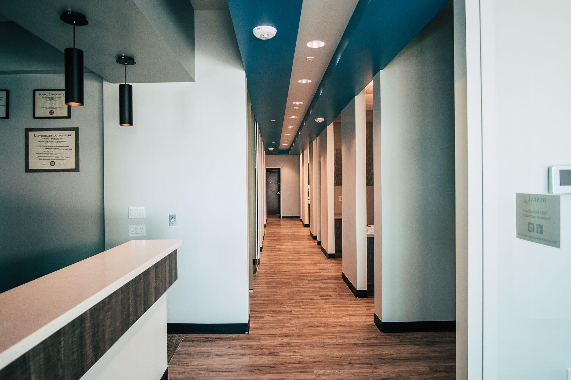 Dental Ben's Hallway -Dentist in Peoria, AZ 85383