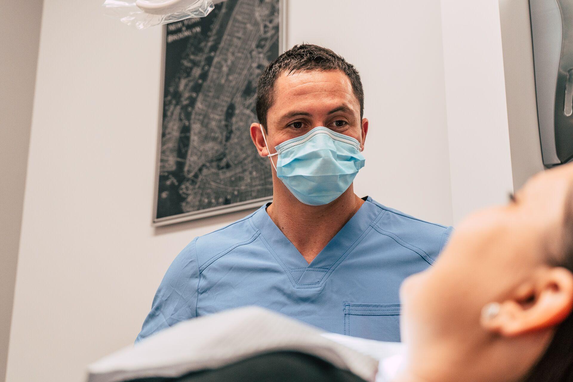 Dr. Ben with patient - Dentist in Peoria, AZ 85383