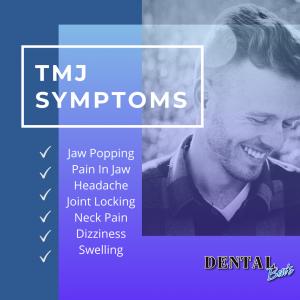 TMJ symptoms list