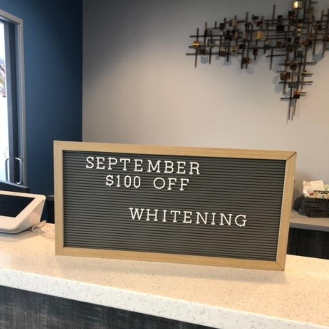 $100 off  teeth whitening in Peoria, AZ