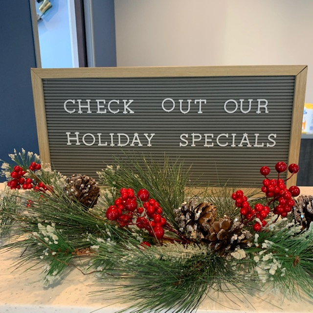 Check out our holiday specials!