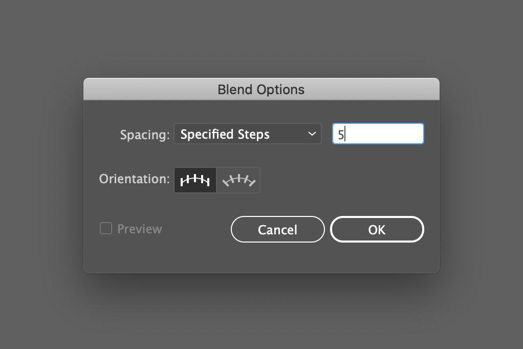 Blend options
