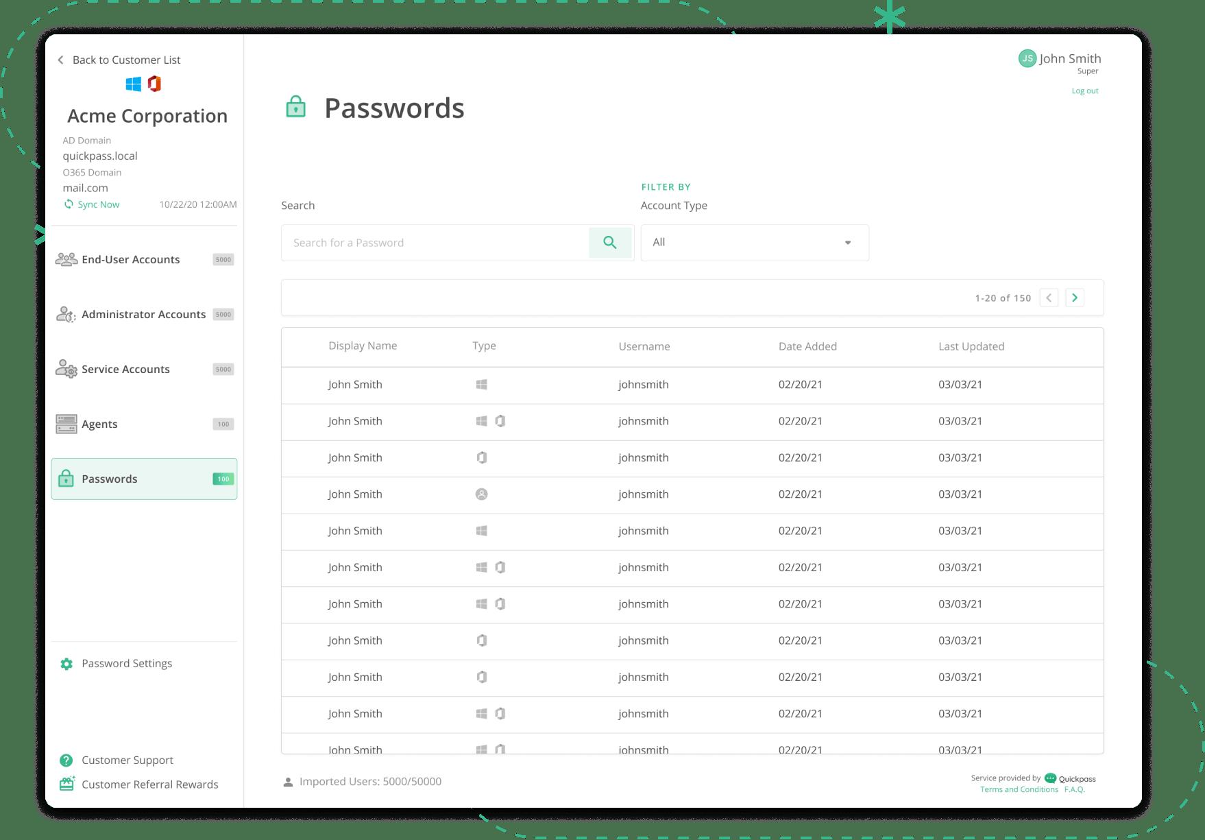 Passwordvault-screen