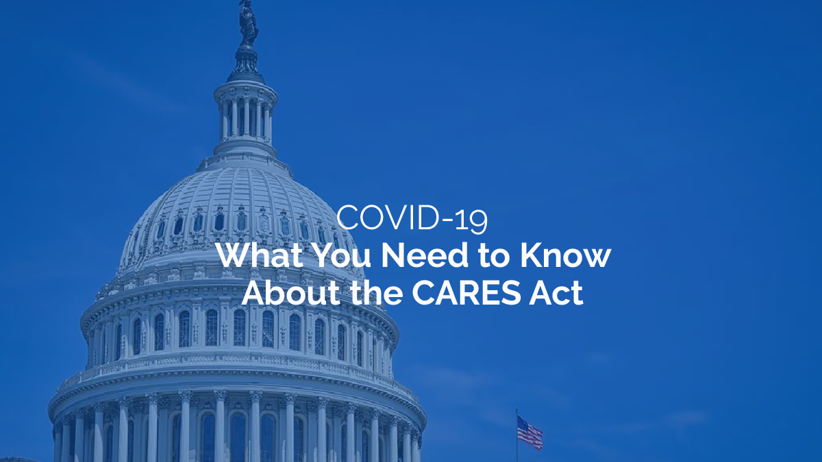 Important CARES Act Highlights Investors Should Know About