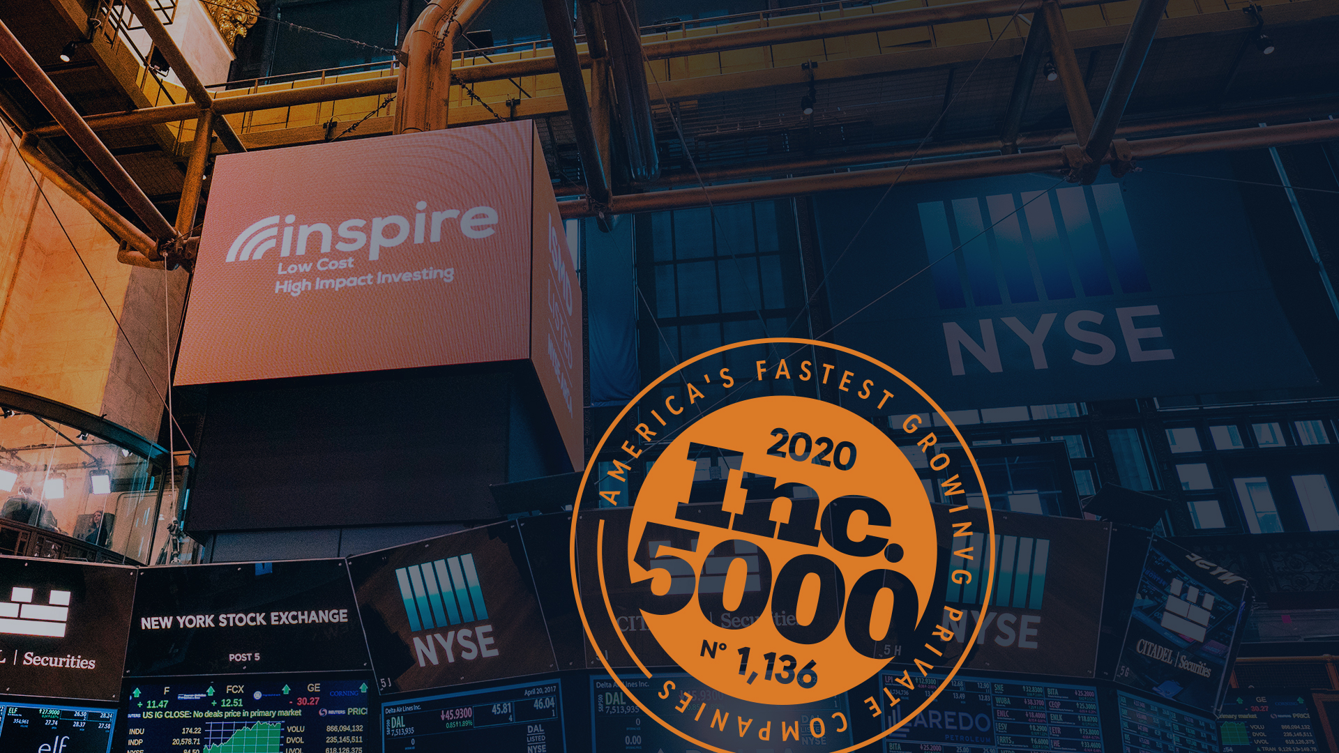 Inspire Investing Recognized On Inc. 5000 List Of Most Successful Private Companies