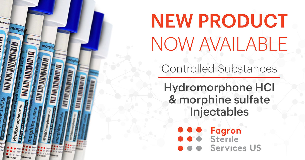 Hydromorphone Now Available