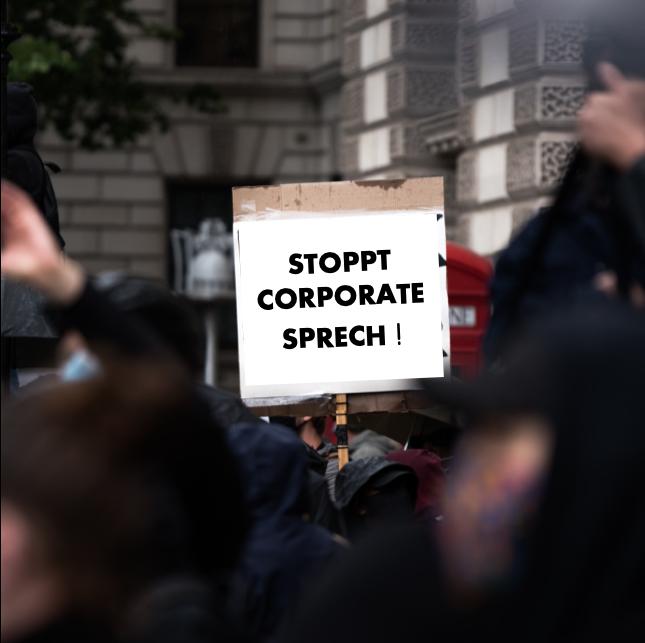 Stoppt Corporate Sprech!